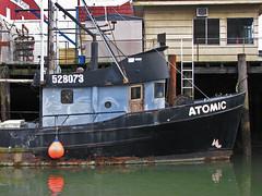 Atomic (skipmoore) Tags: fishingboat trawler atomic pier garibaldi