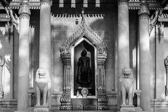 Phra Ubosot, Wat Benchamabophit (aey.somsawat) Tags: architecture bangkok buddhisttemple lightshadow marbletemple thaiarchitecture ubosot watbenchamabophit