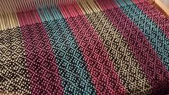 3 shaft weaving on a rigid heddle loom (Sweet Annie Woods) Tags: