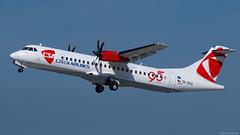 OK-GFQ / ATR ATR-72.500 / CSA Czech Airlines (PBe1958) Tags: transportation lietadlo aircraft airplane aero aeroplane airliner jetliner atr at75 atr72500 csa csaczechairlines prg praharuzynevaclavhavel