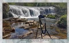 The Waterfall at Monsal Dale Weir (setsuyostar) Tags: monsaldale riverwye derbyshiredales waterfall river waterblur spring2019 may2019 topazstudio kenhawley samsunggalxys7