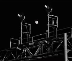 Full Moon Searchlights (dauve_787) Tags: full moon rondout illinois railroad night astrophotography