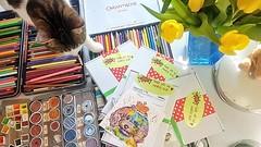Ich bin schon ein wenig aufgeregt, morgen werden in vielen Osternestern als Überraschung Arbeiten von mir liegen - auch diese hier, die am Donnerstag last minute rausgingen und nun definitiv schon da sind! 😁 ___ #wandklex #malerei #handgemalt #aquare (wandklex Ingrid Heuser freischaffende Künstlerin) Tags: ifttt instagram wandklex ingrid hesuer art kunst etsyda dawandada etsyseller dawandaseller watercolor watercolour meetthemaker behindthescenes kunstatelier artwork malerei artist etsyfinds etsygifts etsyfindes dawandafinds aqaurell