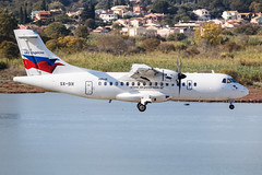 Sky Express ATR 42-500 SX-SIX 004 (A.S. Kevin N.V.M.M. Chung) Tags: aviation aircraft aeroplane airport airlines plane spotting flying greece corfu cfu atr42500 atr approach landing