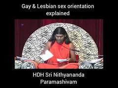 #Gay and #Lesbian #Sex #Orientation #explained HDH Sri #Nithyananda #Paramashivam (manish.shukla1) Tags: gay lesbian sex orientation explained hdh sri nithyananda paramashivam