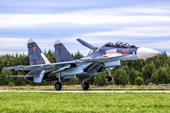 Su-30SM (RealHokum) Tags: sukhoi su30sm russianairforce russianarmy kubinka army2016 airshow aircraft airplane aviation ef200400 fighter flanker