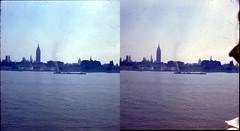 Batch E 0045 (dizzygum) Tags: vintage stereo 3d slide images 1960 european trip us to europe new york ny city skyline