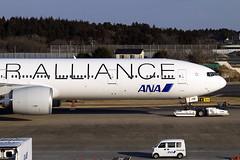JA731A (JBoulin94) Tags: ja731a all nippon airways allnipponairways ana star alliance special livery boeing 777300er tokyo narita international airport nrt rjaa john boulin