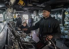 USS Carney (DDG 64) (CNE CNA C6F) Tags: usscarneyddg64 us6thfleet c6f fdnf formidableshield nato iamd atlanticocean