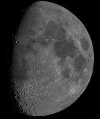 The Moon 13th May 2019 (ukmjk) Tags: moon astro astronomy staffordshire stoke sky nikon night d500 4k registax pipp microsoft ice