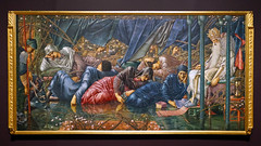 Burne-Jones, The Council Chamber from the The Briar Rose series