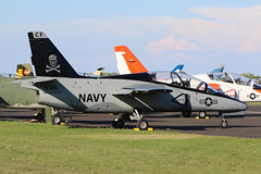NX270CF, SIAI-MARCHETTI S-211, Oshkosh 2018 (ColinParker777) Tags: nx270cf n270cf siaimarchetti s211 jet fighter plane airplane aircraft aeroplane fly flying flight military navy usn united states airforce trainer skull crossbones cross bones cf danger canopy oshkosh 2018 airshow display sunny grass wisconsin airventure eaa experimental association canon 7d 7d2 7dmk2 7dii 7dmkii