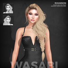 New Rhiannon hair @ Fantasy Fair 2019! (Wasabi // Hair Store) Tags: 3d mesh hair wasabipills asteroidbox ransommatter izzies pinkfuel maibilavio maitreya catwa glamaffair kibitz