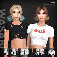 New Carina style @ Soiree (Wasabi // Hair Store) Tags: 3d mesh hair wasabipills maitreya catwa league aviglam insol glamaffair minimal erratic randommatterizzieskibitztres blah