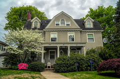 Historic Home (JMS2) Tags: house architecture historic dwelling spring blossoms scenic outdoor