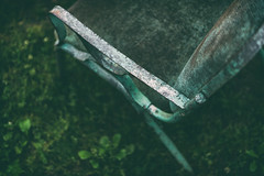 Pull up a chair (Sarah Rausch) Tags: sony chair antique texture metal 50mm 18 vintage