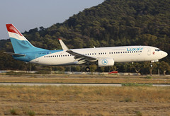 LX-LBA (QC PHOTOGRAPHY) Tags: rhodes diagoras greece july 27th 2018 luxair b737800swl lxlba