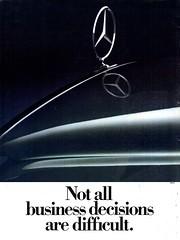 1984 Mercedes-Benz Aussie Original Magazine Advertisement (Darren Marlow) Tags: 1 4 8 9 19 84 1984 m mercedes b benz c car cool collectible collectors classic a automobile v vehicle g germany german e european europe 80s