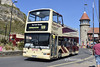Go Ahead East Yorkshire 881, A10EYD. (EYBusman) Tags: go ahead north east yorkshire motor services eyms hull bus coach foreshore road scarborough seafront service open top plaxton president volvo b7tl london central regional transport buses a10eyd eybusman x579egk