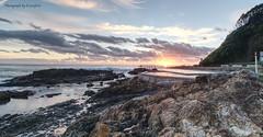 Rock Pool Sunrise s (Luxurypete) Tags: landscape rock pool sea beach sunrise olympus omd em5 markii