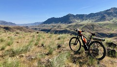 IMG_2008 (Doug Goodenough) Tags: bicycle bike camping pedals spokes ebike bulls evo estream 29 imnaha river oregon spring rpod canyon mountains zumwalt prarie wallowa wallowas drg531 drg53119 drg53119imnaha gravel grinding cycle dirt