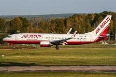 D-ABBC (PlanePixNase) Tags: aircraft airport planespotting haj eddv hannover langenhagen airberlin boeing 737800 b738 737