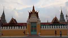 Front entrance of the Royal Palace, Phnom Penh