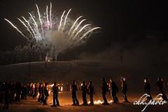 Winter 2018/2019 is over (chk.photo) Tags: landschaft outdoor landscape light feuerwerk show firework austria event salzburg fire