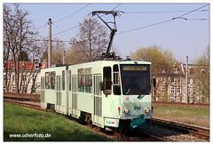 Tram Frankfurt (O) - 2019-17 (olherfoto) Tags: bahn tram tramcar tramway strasenbahn villamos frankfurtoder tatra kt4d