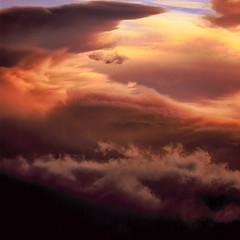 Peachy (dylan67krause) Tags: vintage velvia velvia100 square slidefilm sky sunset hasselblad photography beautiful vivid 120 100asa mediumformat 6x6 e6 film fujichrome fujifilm 500cm slr color clouds