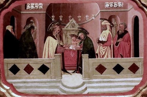 IMG_0539 X Italie vers 1450-1500 The Présentation in the Temple  Bonnefantenmuseum.  Maastricht.