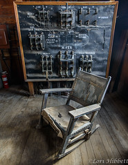 Control House - watchman's chair (Olancha Peak) Tags: 2019 goldfield lorihibbett nikon tonopah clouds goldmine historicmine nevada silvermine sunset