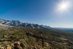 1902 Looking South from Romo Peak (c.miles) Tags: coronadonationalforest golderdome puschpeak puschridge puschridgewilderness romohill santacatalinamountains snow tablemountain