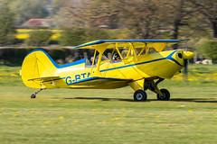 G-BTAK EAA Acrosport II (amisbk196) Tags: airfield aircraft headcorn amis flickr 2019 unitedkingdom kent uk lashenden gbtak eaa acrosport ii