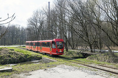 Metamorfose van een Düwag (Tim Boric) Tags: makoszowy zabrze tram tramway streetcar strasenbahn tramwaj interurban vicinal überlandbahn ztm pt