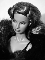 Tag Game - Black & White (nauriel :-)) Tags: agnes von weiss doll fashion royalty integrity toys vamp boudoir