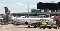 EC-MBK Vueling Airbus A320-214  AMS 130519 (kitmasterbloke) Tags: aircraft aviation transport outdoor europe jet schiphol ams amsterdam