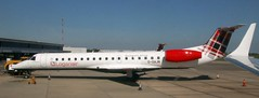 G-SAJN EMB145 Loganair NWI 130519 (kitmasterbloke) Tags: aircraft aviation transport outdoor europe jet norwich nwi uk