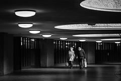 Barbican London 2019 (XBeauPhoto) Tags: architecture bw london pensioner xt3 barbican blackwhite brutalism brutalist candid citylife curve fuji monochrome street streetphotography urban