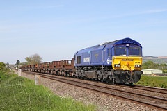 66005 Class 66/0 'Maritime Intermodal One' (Roger Wasley) Tags: 66005 class66 maritime intermodalone ashchurch diesel locomotive trains railways