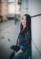 Smile (Pavel Valchev) Tags: rokkor 58 12 wideopen bokeh dof sony a7m3 a7iii manual lens photoshop lightroom 58mm mc ilce nex mirrorless adapted portrait woman sofia girl