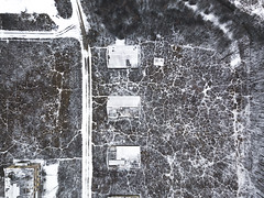 #196 Homesteads (Timster1973 - thanks for the 16 million views!) Tags: snow snowy hungary house houses wrecked wreck derelict decayed decay abandoned abandon aerial aerialphotography fly mavic drone uav quadcopter dji mavicprodrone djimavicpro up uphigh droneflying tim knifton timster1973 timknifton explore exploration perspective lookdown lookingdown color colour