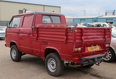 F66 RPU (1) (Nivek.Old.Gold) Tags: 1989 volkswagen transporter 112ps syncro doublecab pickup 2109cc aca t3