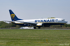 Ryanair EI-FTH B737-800 at Manchester Airport 19-04-19 (JH Aviation and Railway Photography) Tags: manchester manchesterairport airliner airport aircraft aviation airways airlines aviationviewingpark avp southside egcc jetliner jet jets
