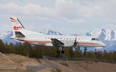 Saab 340 | N403XJ | ANC | 20150510 (Wally.H) Tags: saabfaichild sf340 saab340 n403xj penair peninsulaairways anc panc anchorage airport