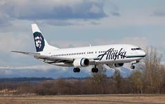 B737 | N797AS | ANC | 20150510 (Wally.H) Tags: boeing 737 boeing737 b737 n797as alaskaairlines anc panc anchorage airport