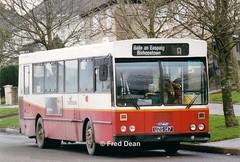 Bus Eireann KC147 (UZG147). (Fred Dean Jnr) Tags: buseireannroute208 cork buseireann gac kc147 zg uzg147 bishopstown december1998 dublinreg curraheenroadcork