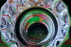 Ground-glass stopper (keiko*has) Tags: macromondays bottlecap groundglassstopper camus cognac reflection