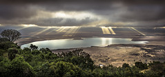 The Ngorongoro Conservation Area. Tanzania (juanjo_rueda) Tags: safari tanzania sunset light ngorongoro africa landscape amanecer paisaje