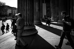 British Museum, London, UK (KSAG Photography) Tags: museum pillar light shadow contrast london england uk europe britain unitedkingdom city urban history heritage nikon people hdr april 2019 spring sun